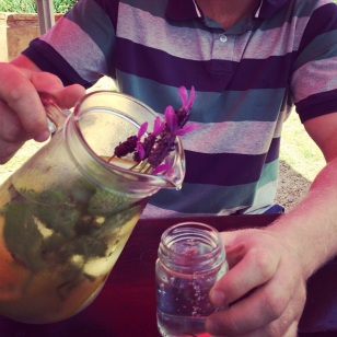 Delicious herbal drink