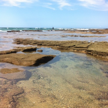 Bhanga Nek rock pools