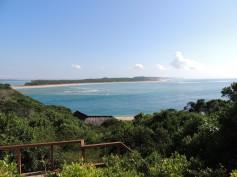 View from Machangulo Beach Lodge deck