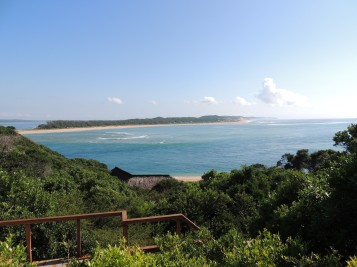 View from Machangulo Beach Lodge deck