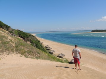 Stunning views from the sand dune