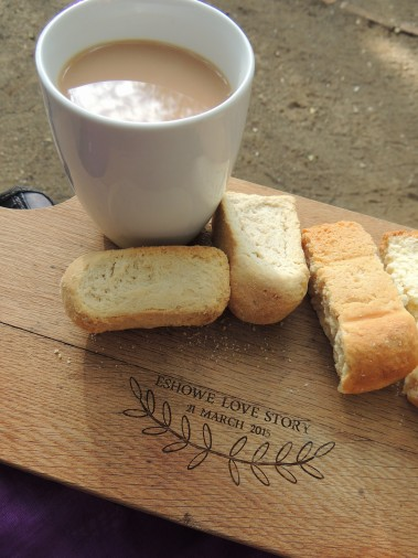 You can't go to the game reserve without rusks.