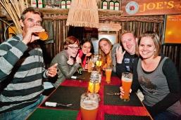 Joes Beerhouse ... early evening