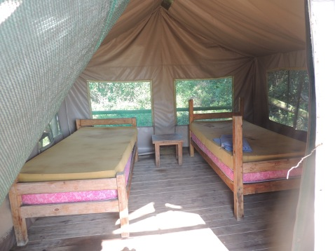Inside of Tent 3