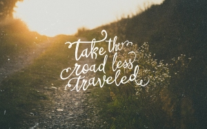 Take The Road Less Traveled - MacBook - (PktFuel.com)