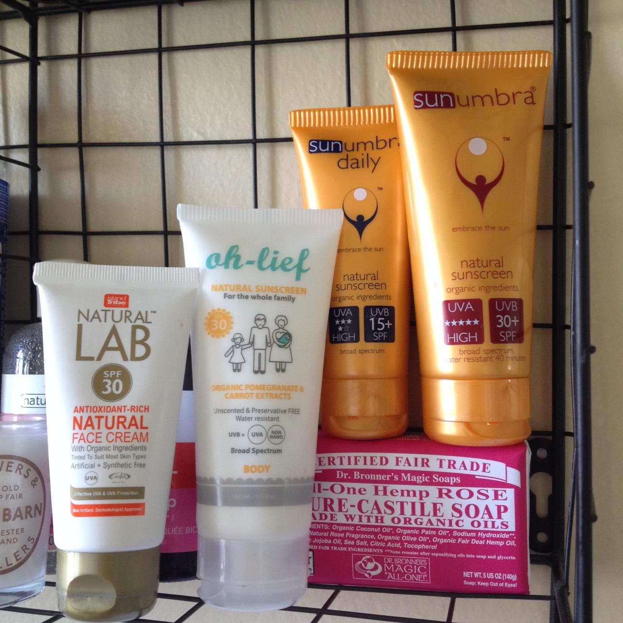 facial All sunscreen natural