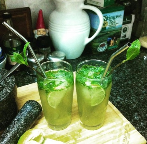 Mojitos at home