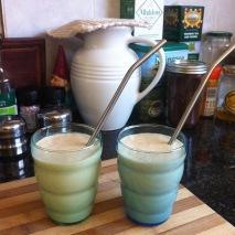 Turmeric & ginger kefir smoothie