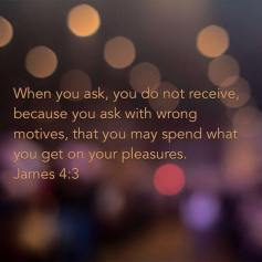 James 4:3