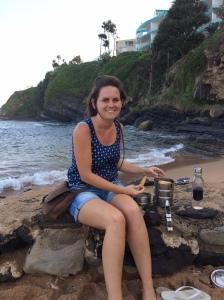 Colleen - Chakas Rock Beach - Samoosas