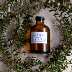Beauty & The Beard - glass packaging