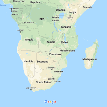 For those who were unclear on where Zambia was.