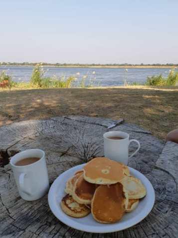 Afternoon crumpets & tea