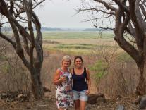 Mom & I in Zambia