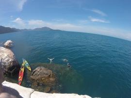 Kayaking & Rock Jumping!